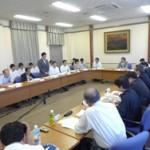 昨年6月にひらかれた松井一郎知事との政策懇談会で府連が対応を求めていた